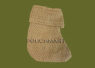 5 x 6 Burlap Stocking - 1 Piece