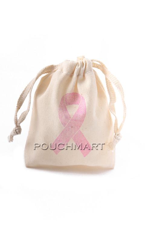 Awareness Ribbon Print Canvas Bag