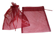 8 x 10 Plain Organza Bags - 10 pcs