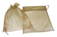 10 x 12 Plain Organza Bags - 10 pcs