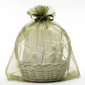 22 x 25 Plain Organza Bags - 1 pc
