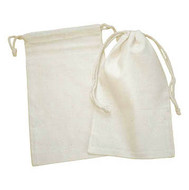 5.75 x 9.5 Canvas (Cotton) Bag - 12 pcs