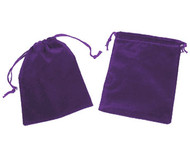 4 x 5.5 Velour Bag - 10 pcs