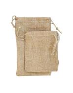 6 x 10 Natural Burlap Bag - 12 pcs