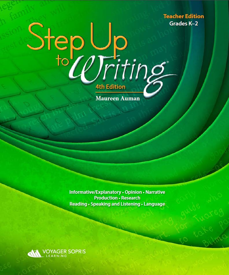 Step up to writing fourth edition voyager sopris learning step up to writing grades k 2 classroom set with access to online resources 4th edition fandeluxe