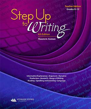 Step Up to Writing 9-12