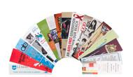 """PBM28   2"""" x 8"""" Premium 16pt Custom Bookmarks"""