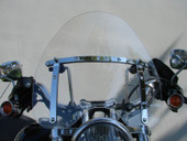 CLEAR WINDSHIELD Windscreen for Harley Honda Davidson Kawasaki Suzuki Yamaha Cruiser