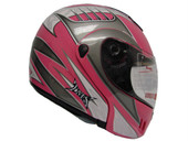 PINK MODULAR FLIP UP FULL FACE MOTORCYCLE HELMET DOT