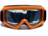 Adult ORANGE GOGGLES Motocross MX DirtBike ATV Off-Road