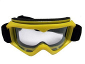Adult YELLOW GOGGLES Motocross MX DirtBike ATV Off-Road