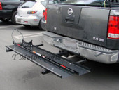 600LB MOTORCYCLE SPORT BIKE HITCH CARRIER HAULER +RAMP
