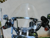 "19"" x 17"" LARGE Windshield Windscreen for Suzuki Savage Intruder Volusia Boulevard"