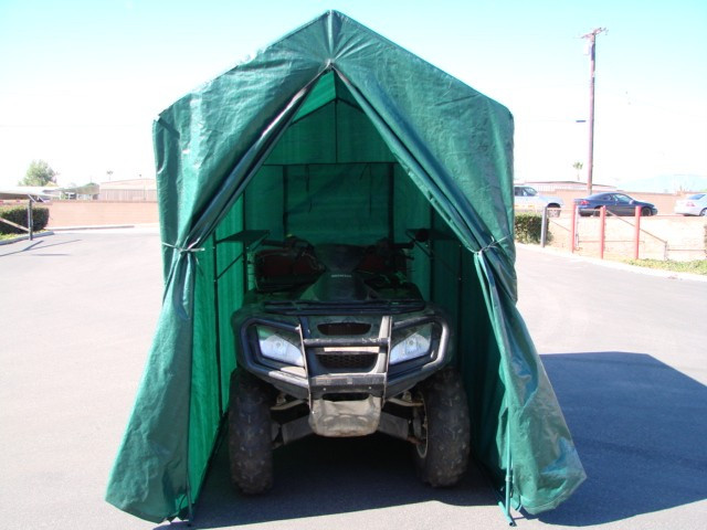 Portable Motorcycle Covers : Hog cabin motorcycle storage joy studio design gallery