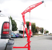 500 LB PICKUP TRUCK HYDRAULIC PWC DOCK JIB ENGINE HOIST CRANE HITCH MOUNT LIFT