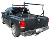650 LB UNIVERSAL CONTRACTOR TRUCK LADDER RACK PICK UP 2 BAR LUMBER UTILITY KAYAK
