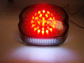 Smoked Tail Light for Harley-Davidson Sportster