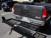 1000# MOTORCYCLE DIRT BIKE CARRIER +RAMP +CARGO BASKET