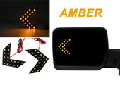 36 LED Car Motorcycle HIDDEN Turn Signal Side Mirror Arrow Indicators euro~AMBER