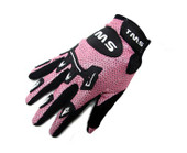 TMS YOUTH ATV MOTOCROSS DIRT STREET BIKE OFF-ROAD MOTORCYCLE GLOVES PINK