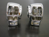 Chrome Switch Housing for Harley Electra Glide Road King Flhtcu Fltr Flhrc Flhr