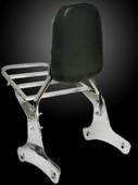 Backrest Sissy Bar W/luggage Rack for 1992-2003 Honda Shadow Vt750 Vt 750 400