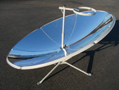 New Portable Parabolic Sun Power Energy Solar Cooker Water Cooking Oven Camping