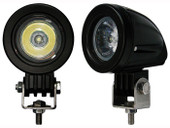 20W Round LED Spot Fog Running CREE Head Light Naked Bike Cruiser Chopper Bobber