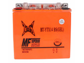 Gel YTX14-BS Motorcycle Battery For Honda Suzuki Kawasaki Yamaha Triumph V Rod
