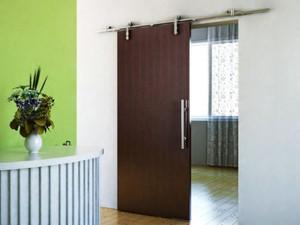 european modern satin stainless steel sliding barn wood door closet