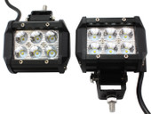 2 x 18W 1260LM CREE Spot Led Work Light Bar Off-road SUV Boat 4x4 Jeep Lamp 4WD
