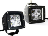 2x Dually Cube 16W CREE LED Spot Fog Driving Trail Light Off Road Bar Jeep Truck