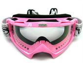 Adult PINK GOGGLES Motocross MX Dirt Bike ATV Off-Road