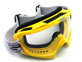 Adult YELLOW GOGGLES Motocross Dirt Bike ATV Off-Road