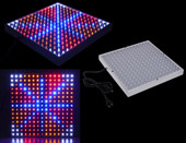 14W 225 LED Indoor Grow Light Lamp Blue Red Orange White Hydroponic Plant Panel