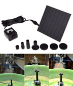 Solar Power Panel Pump Kit Garden Fountain Pool Pond Submersible Watering Plants