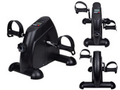 Mini Pedal Exerciser Cycle Exercise Bike Indoor Fitness w/LCD Display Adjustable