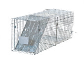 """32""""x12""""x10"""" Humane Animal Trap Small Live Rodent Control Steel Cage Opossum Rat"""