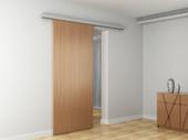 """79"""" Aluminum Antique Style Barn Wood Slidng Door Hardware Pocket Door Track Kit"""