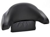Black Motorcycle Trunk Tail Box Luggage Passenger Wrap Around Touring Backrest