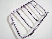 CHROME MOTORCYCLE TOUR TRUNK TOP RACK PACK HARLEY