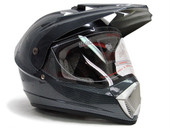 TMS Motocross Dual Sport Helmet - Carbon Fiber