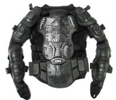 Motorcycle Full Body Armor Jacket Spine Protector