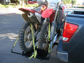 1000LB DOUBLE MOTORCYCLE DIRT BIKE CARRIER HAULER