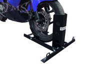 1000LB MOTORCYCLE SCOOTER TRAILER WHEEL CHOCK BIKE STAND TRUCK TOW TOWING TRANSPORT