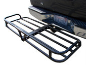 "50"" x 20"" HITCH MOUNT CARGO CARRIER LUGGAGE BASKET HAULER RV SUV TRUCK CAR"