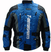 TMS Blue Enduro Jacket Motorcycle MX Dual Sport ATV