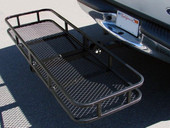 "60"" x 20"" Folding Cargo Carrier Luggage Basket Hitch Hauler"