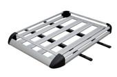 Aluminum Roof Basket Cargo Carrier Rack Car Top w/BARS