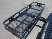 FOLDING CARGO CARRIER LUGGAGE BASKET HITCH TRUCK 60X20